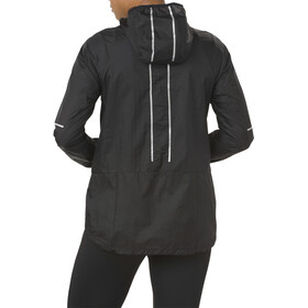 asics Lite-Show Jacket Damen performance black